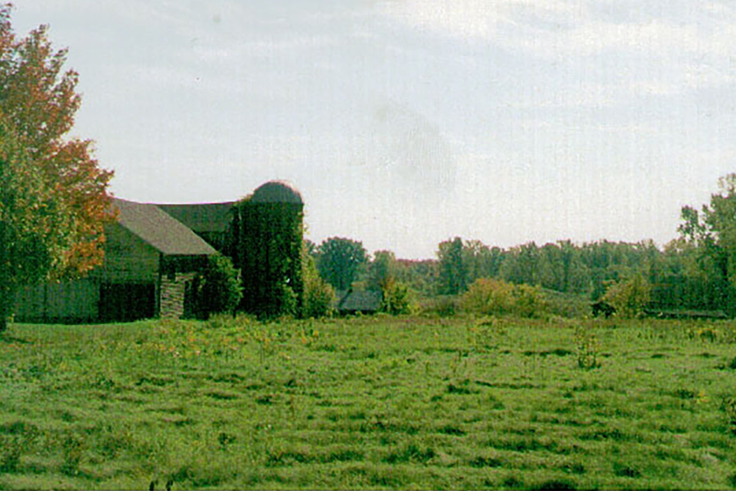 Site of The GreenFields Before Construction